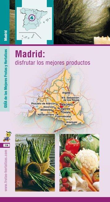 Madrid: - Frutas y Hortalizas