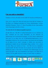 Dieser Vortrag als PDF-Dokument - ForseA