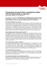 BBF-Infobulletin 02.04.2011.pdf - Flumserberg