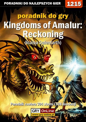 Poradnik GRY-OnLine do gry Kingdoms of Amalur ... - Gandalf