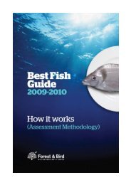 Best Fish Guide - Forest and Bird