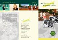 Kontakt Claudia Kohde-Kilsch - FTC Palmengarten