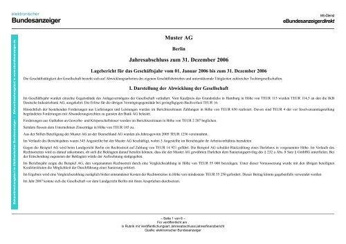 Vollstandigkeitserklarung Ort Muster Jahresabschluss