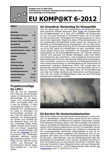 EU KOMP@KT 6-2012 - Freistaat Thüringen