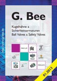 Preisliste im PDF Format - G. Bee GmbH