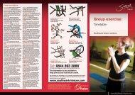 Group exercise - Fusion Lifestyle