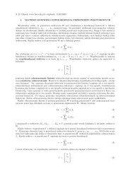 Zmiana bazy odwzorowania liniowego przestrzeni wektorowych