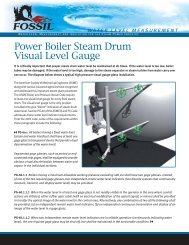 Power Boiler Steam Drum - Fossil Power Systems Inc.