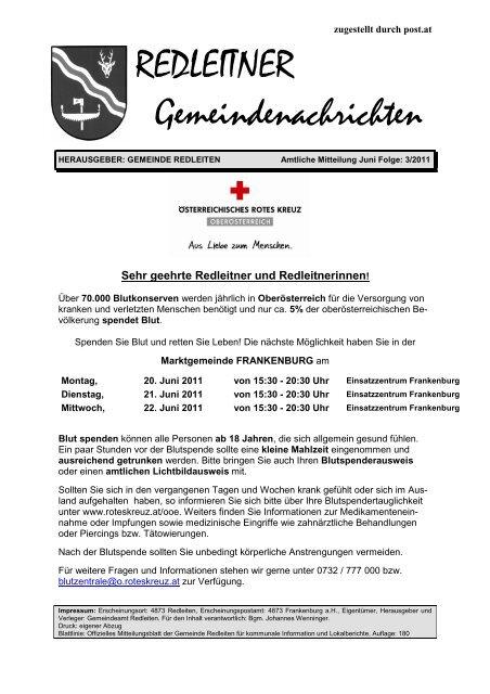 News TSV Frankenburg U17 F-Region Sd U17 Oberliga