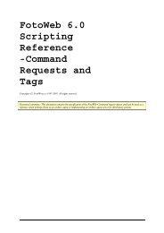 FotoWeb 6.0 User Guide - Scripting Reference - FotoWare