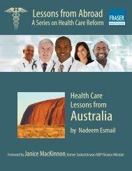 Health Care Lessons from Australia - Fraser Institute