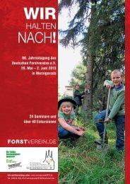 HALTEN - Deutscher Forstverein