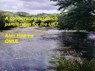 A cooperative research partnership for the UK ... - FreshwaterLife