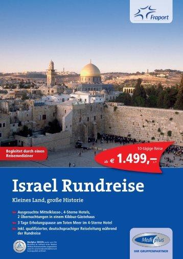 Israel Rundreise - Flughafen Frankfurt