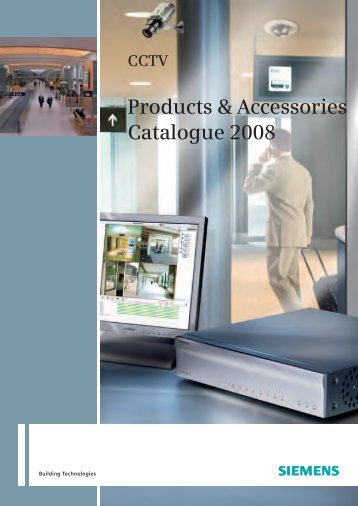 CCTV – Products & Accessories Catalogue 2008