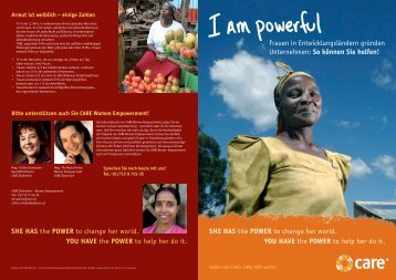 CARE Women Empowerment