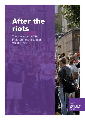 After the riots