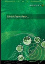 A Strategic Research Agenda
