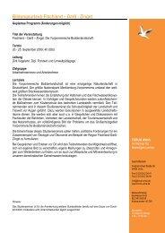 Programm Fischland-Darss-Zingst Herbst 2009 - Forum Unna