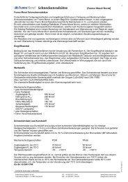 Schneckenradsatzkatalog - Framo Morat