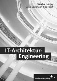 IT-Architektur-Engineering - Leseprobe - Galileo Computing