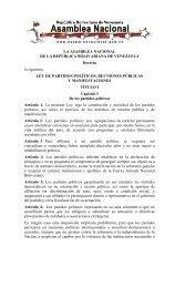 Ley de los Partidos Políticos - Dirección de Formación IFEDEC