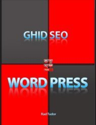 GHID SEO WORDPRESS – TUDI.RO
