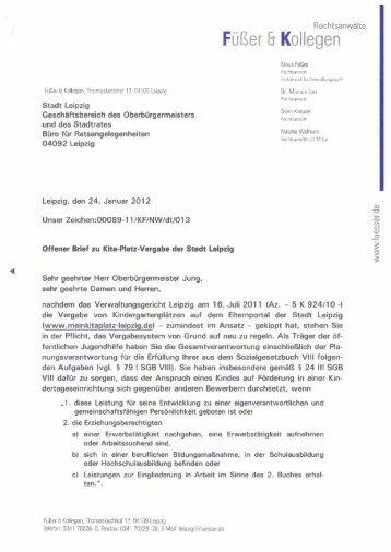 Folien zum Impulsreferat - RAe Füßer und Kollegen