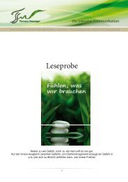 Leseprobe - Theresia Friesinger