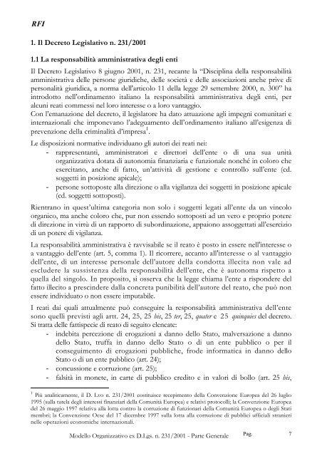 modello organizzativo e di gestione - Trenitalia