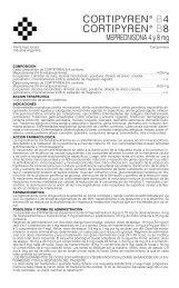 CORTIPYREN B4/B8 PROSP. 10/05 - Gador SA