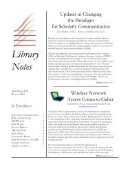 libnotes #26 - Galter Health Sciences Library - Northwestern University