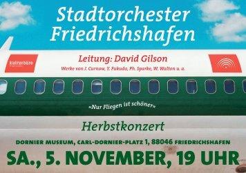 Nur Fliegen ist schöner - Friedrichshafen