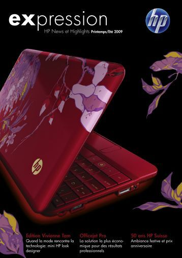 Edition Vivienne Tam Officejet Pro HP News et Highlights Printemps ...