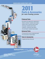 Rheem Parts Catalog - Fox Appliance Parts of Macon, Inc.