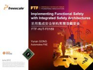 Implementing Functional Safety with Integrated Safety Architectures