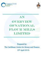 AN OVERViEW OFNATIONAL FLOUR MILLS LIMITED - Caribbean ...