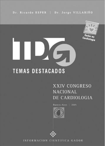 Temas Destacados XXIV Congreso Nacional de ... - Gador SA