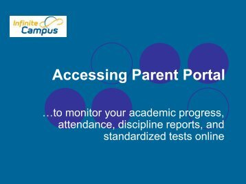 Accessing Parent Po Accessing Parent Portal - Forsyth County ...