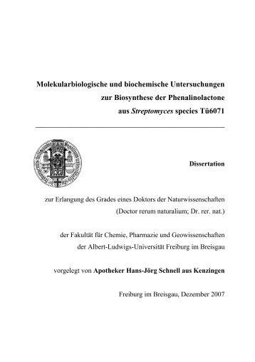 dissertation zahnmedizin freiburg