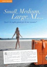 Small, Medium, Large, XL... Qual e' la taglia giusta ... - Frigerio Viaggi