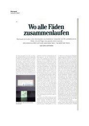 Katrin Wittneven, Monopol 2007 - Galerie Jocelyn Wolff