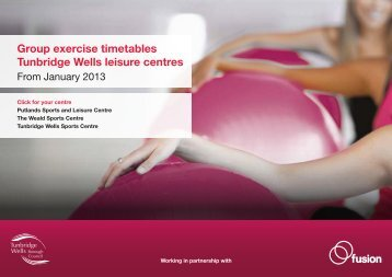 Group Exercise timetable April 2013 (PDF 441kb) - Fusion Lifestyle