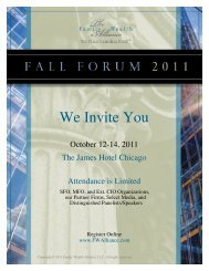 We Invite You - The Family Wealth Alliance