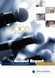 2011 Annual Report Cover AW - Federation of Small Businesses