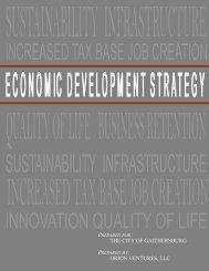 Economic Development Report - City of Gaithersburg