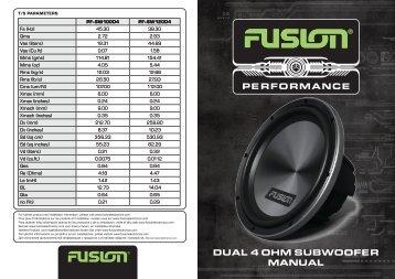 Product Manual - Fusion