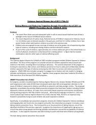 VAWA Prevention Policy - Futures Without Violence