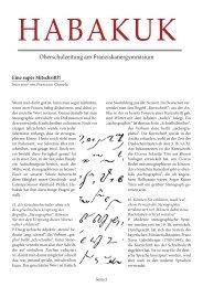 Habakuk Ausgabe 5/2013