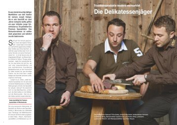 Die Delikatessenjäger - Hotel & Gastro Union